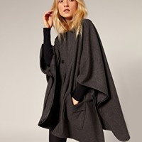 Surface To Air Tyrol Wool Cape