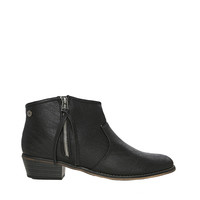 Papaya Clothing Online :: SLIT FAUX LEATHER BOOTIES