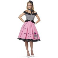 California Costumes Women's Nifty 50's Adult