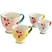 Teacup Measuring Cups - Set of 4