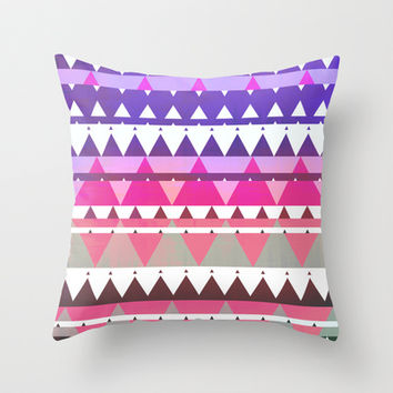 Mix #562 Throw Pillow by Ornaart