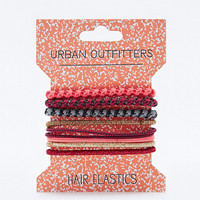 Mixed Hair Bobble Pack in Burgundy - Urban Outfitters