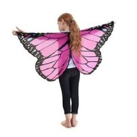 Douglas Dreamy Dress-ups Fanciful Fabric Wings - Pink Monarch Butterfly