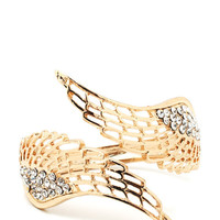 embellished-wings-bracelet GOLD - GoJane.com