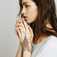 Free People Womens Chainmail Handpiece -