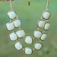 Love Knows No Bounds Necklace-Ivory