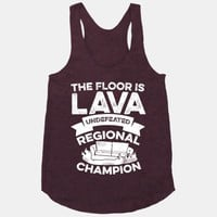 The Floor is Lava Undefeated Regional Champion
