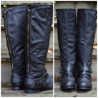 Maplewood Trails Black Riding Boots