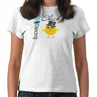 Tap Dancing Chick 5 Tee Shirts from Zazzle.com