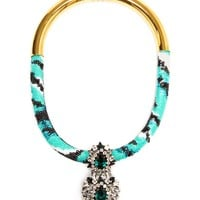 SHOUROUK | Crystal and Sequin Necklace | Browns fashion & designer clothes & clothing