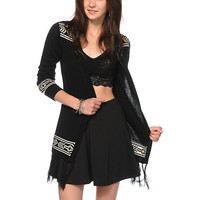 Lira Dare Black Cardigan