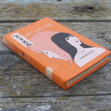 Vintage book A Girl Like Me by Jeannette Eyerly 1966