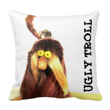 Ugly Troll Pillow