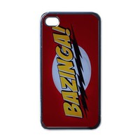 Apple iPhone Case - Big Bang Theory Bazinga - iPhone 4 Case Cover | Merchanstore - Accessories on ArtFire