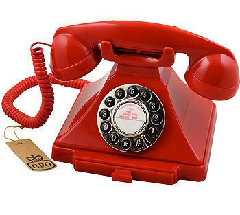 gpo carrington vintage design telephone by protelx ltd | notonthehighstreet.com