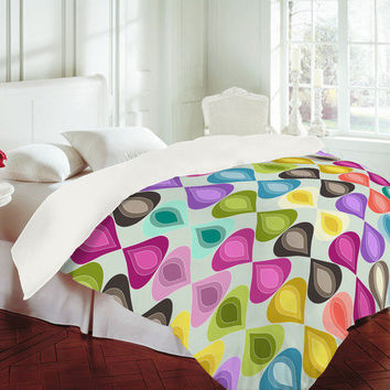 Sharon Turner Candy Gouttelette Duvet Cover - Luxe Duvet Cover /