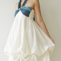 Vary ...  White Cocktail Dress