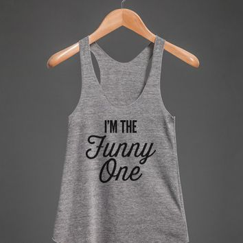 The Funny One - Group Shirts 1-Unisex Athletic Grey Tank