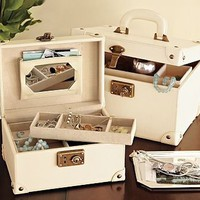 Traveler&#x27;s Jewelry Luggage | Pottery Barn
