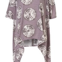 Tie Dye Target Drape Tee - New In This Week  - New In