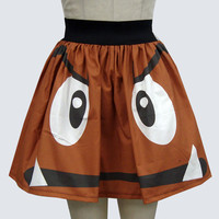 Goomba Inspired Full Skirt