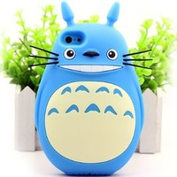 Apple's New Iphone5/5s Phone Shell Mobile Phone Shell Silicone 5 Totoro Cartoon Apple 5s Cover Case (A3)