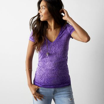 AEO Real Soft® Favorite V-Neck T-Shirt