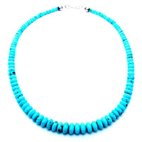 Turquoise Flow Navajo Necklace