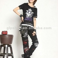 Glp Striped Cat Ear Hoody & Detachable Armwarmers Small Goth Punk Emo Black/red 71212 - Buy Black White Striped Hoodie,Down Jacket Women,Women Trendy Jacket Product on Alibaba.com