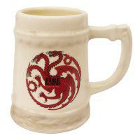 Game of Thrones Targaryen Fire and Blood Stein
