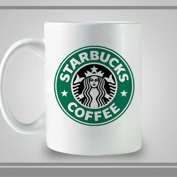 Starbuck Logo Design Ceramic Coffe Mug, Best Gift, Decorative With Cool Design
