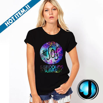 5sos galaxy nebula Beautiful and Cool Tshirt and TankTop Unisex