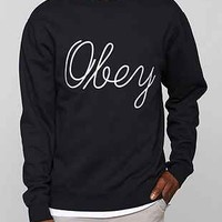 OBEY Stanton Pullover Sweatshirt - Urban Outfitters