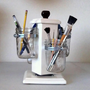Ball Jar Desk Caddy, Desk Organizer, Utensil Caddy, Paint Brush, Pen, Pencil Holder
