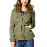 Quilted Parka -