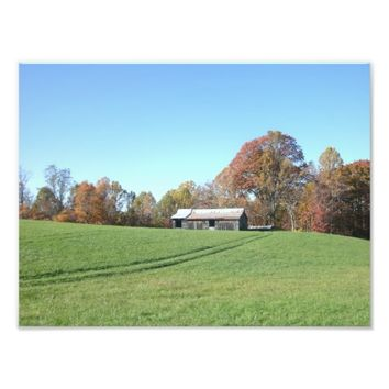 Field With Barn