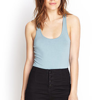 Stretch-Knit Racerback Tank