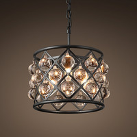 Spencer Hoop Chandelier 12""