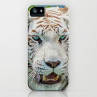 THE BEAUTY OF WHITE TIGERS iPhone & iPod Case by Catspaws   Society6