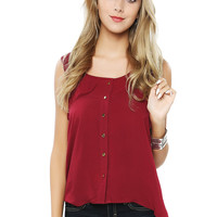 Papaya Clothing Online :: BASIC Front Buttoned Top
