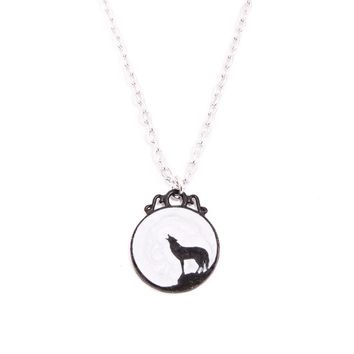 """""""Wolf"""" Necklace by Alchemy of England"""