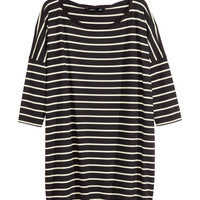 H&M - Oversized Jersey Top -