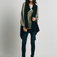 Free People Sleeveless Cape