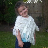 Caireann Poncho for ... by Christina D. | Knitting Pattern