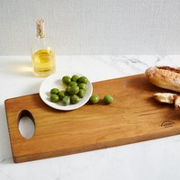Burnished Wood Serving Board