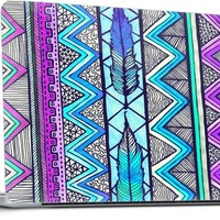 Two Feathers Three... Laptop by Lisa Argyropoulos | Nuvango