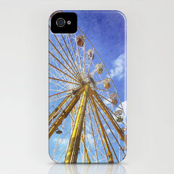 At the Funfair (3) iPhone Case by Angela Bruno | Society6