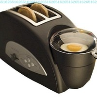 Back to Basics TEM500 Egg-and-Muffin 2-Slice Toaster and Egg Poacher:Amazon:Kitchen & Dining