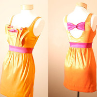 ON SALE 4th of July Orange You Glad We Met Dress (S, M, L)
