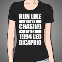 Run Like You're Chasing 1994 Leo DiCaprio (white)